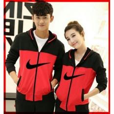 Beli Lf Best Seller Lf Jaket Pasangan Model N Jdi Jacket Couple Jaket Sepasang Jacket G*Rl Jaket Pria Lc Hitam Merah D2C Baru