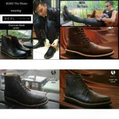 BEST SELLER !! Sepatu Kulit Safety Keren / Sepatu Boot Di Pakai Artis / Sepatu Original Bandung