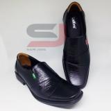 Beli Best Seller Sepatu Pantofel Pria Bahan Kulit Asli Fantofel Cowok Sol Karet Empuk Tidak Licin Seken