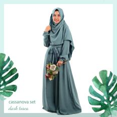 Best Seller - Set Gamis Cassanova - Azalila Shop