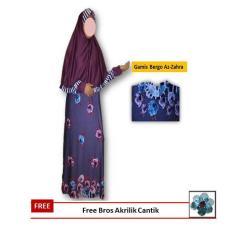 Review Terbaik Best Seller Ym Store Setelan Gamis Bergo Az Zahra L