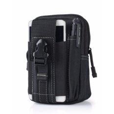 Toko Best Tas Cowo Impor Waist Tactical Bag Waterproof Untuk Dompet Hp Rokok Black White Terlengkap Di Indonesia