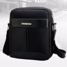 Review Best Tas Retro Fashion Impor 801 Cowo Korean Style Slempang Kulit Gadget Bag Hitam Terbaru