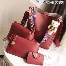 Harga Best1153 Tas Ransel Backpack 4In1 Best Seller Tas Batam Tas Wanita Tas Fashion Multi Baru