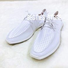 Besties Toms Sepatu Slip On Kasual Pria - Putih