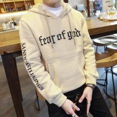 Bf Korea Fashion Style Tambah Beludru Musim Gugur Baru Pria Kaos Sweater Y29 Coklat Muda Oem Murah Di Tiongkok