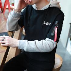 Harga Bf Korea Pria Musim Gugur Pullover Sweater Y36 Hitam Baju Atasan Sweter Pria Branded