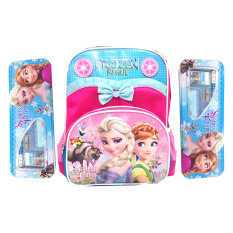 Jual Beli Bgc Disney Frozen Anna Elsa Pita Renda Tas Anak Sekolah Tk Pink Blue 2 Kotak Pensil Dan Alat Tulis Frozen Banten