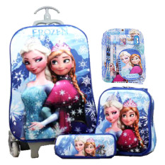 Rp 279.000. BGC Disney Frozen Elsa Anna Blue Snow Koper Set Troley T + Lunch Box + Kotak Pensil + Alat Tulis ...
