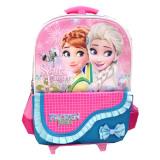Toko Bgc Disney Frozen Elsa Anna Kantung Depan Pita Renda Tas Troley T Anak Sekolah Tk Biru Termurah Di Banten