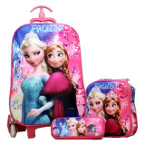 Beli Bgc Disney Frozen Elsa Anna Sakura Koper Set Troley T Lunch Box Kotak Pensil 3D Timbul Import Hard Cover Banten
