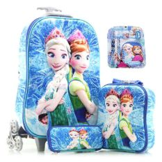 Rp 279.000. BGC Disney Frozen Fever 3 Elsa Anna Koper Set Troley T Samurai + Lunch Box + Kotak Pensil + Alat Tulis ...