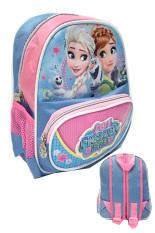 Harga Bgc Disney Frozen Fever Elsa Anna 2 Kantung 3D Timbul Bahan Saten Tas Ransel Anak Sekolah Tk Lengkap