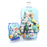 Jual Bgc Disney Frozen Fever Elsa Anna Koper Set Troley T Lunch Box Kotak Pensil 3D Hard Cover Tas Anak Sekolah Bgc Asli