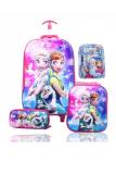 Toko Bgc Disney Frozen Fever Olaf Elsa Anna Koper Set Troley T Lunch Box Kotak Pensil Alat Tulis 5D Timbul Hologram Import Hard Cover Tas Anak Sekolah Bgc Online
