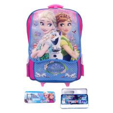 Spesifikasi Bgc Disney Frozen Fever Tas Troley T Anna Elsa Kantung Depan Sd Pink Biru Kotak Pensil Dan Alat Tulis Frozen Paling Bagus