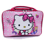 Beli Bgc Hello Kitty Travel Bag Kanvas Import Pink Pakai Kartu Kredit