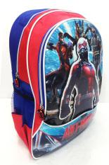 Harga Bgc Marvel Avenger Ant Man 3D Timbul Tas Ransel Sekolah Anak Sd Biru Merah Lengkap