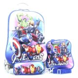 Beli Bgc Marvel Avenger Iron Man Captain America And Thor Koper Set Troley T Lunch Box Kotak Pensil 3D Timbul Import Hard Cover Tas Anak Sekolah Murah Banten