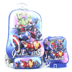 Jual Bgc Marvel Avenger Iron Man Captain America And Thor Koper Set Troley T Lunch Box Kotak Pensil 3D Timbul Import Hard Cover Tas Anak Sekolah Bgc Original