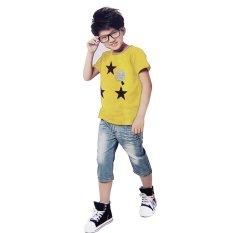 Miliki Segera Bhkc Baju Anak Three Stars Kuning