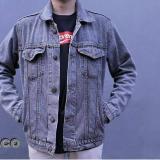 Harga Bhl New Denim Jackets Mens Jaket Denim Pria Snow Blue Online