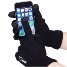 Biby_Store - iGlove Touch Gloves for Smartphones & Tablet Sarung Tangan Motor Touchscreen Responsif di Layar HP