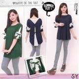 Review Big Agnes Brukat Cantik Baju Atasan Wanita Bigsize Jumbo Spandex Rayon