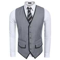 Korean Style Spring And Autumn Thin Small Vest Mens ... -