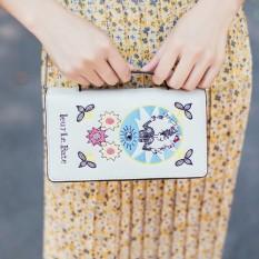 【Big discount】 Revive old customs a literature women's Ladies' single shoulder bag Retro style (WHITE) - intl