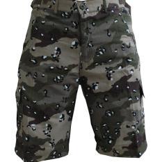 (Bigsize) Celana Panjang Cargo Army Loreng Doreng Gurun Batu - 773Da7