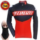Harga Bike Baju Sepeda Jersey Sepeda Biking Cycling Specialized Merah Free Buff Hitam Polos Online
