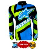 Beli Bike Jersey Sepeda Astars Cycling Biking Baju Kaos Tangan Panjang Free Buff Bike Dengan Harga Terjangkau