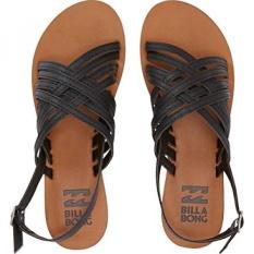 Billabong Womens Miramar Huarache Sandal, Off Black, US - intl
