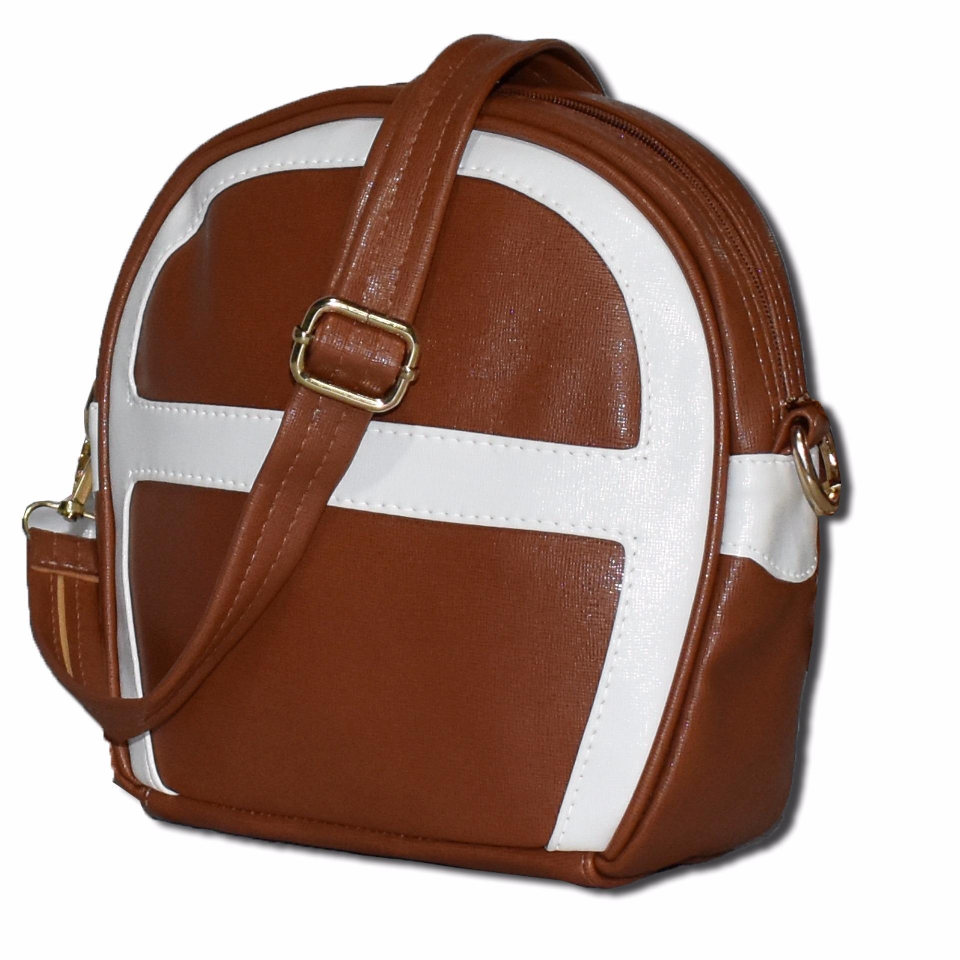 Tersedia berbagai macam warna Bils Promo Tas Wanita Slempang Puffy Sling Bag Coklat .