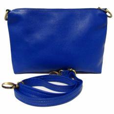 Beli Bils Tas Selempang Sling Bag Women Choice Biru Cicilan