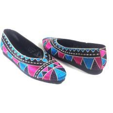 BinAli Sepatu Bordir Eksklusif Original Motif Asmat