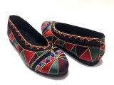 Jual Binali Sepatu Flat Wanita Bordir Eksklusif Merah Hijau Binali