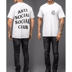 Bkspc Kaos Anti Social Social Club Pria Dan Wanita Puth Di Jawa Barat