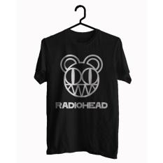 BKSPC - Kaos / T-shirt Band Radiohead - Pria dan Wanita - Hitam