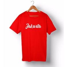 Spesifikasi Bkspc Kaos Tshirt Jakarta Pria Dan Wanita Merah