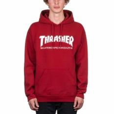 Review Bkspc Sweater Hoodie Trasher Pria Dan Wanita Merah Marun