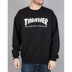 Review Toko Bkspc Sweater Jumper Trasher Pria Dan Wanita Hitam Online