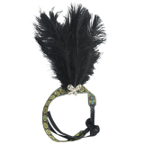 Harga Black Feather Headband 1920 S Flapper Charleston Costume Headband Band Party Intl Rich Long Termurah