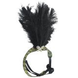 Black Feather Headband 1920 S Flapper Charleston Costume Headband Band Party Intl Rich Long Magideal Diskon 30