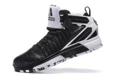 Hitam untuk Pria Performance D ROSE 6 BOOST Sepatu Bola Basket NBA Derrick Rose Sneakers Ringan Top Kualitas Dewasa Ukuran EU: 40-Intl