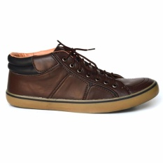 Black Master Geox Sepatu Sneakers Pria brown