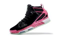 Hitam NBA Derrick Rose Sneakers untuk Pria Performance D ROSE 6 BOOST Sepatu Bola Basket Ringan Dewasa Resmi Ukuran EU: 40-Intl