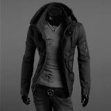 Jual Hitam Musim Semi Musim Panas Jaket Militer Pria Langsing Pakaian The Man Pakaian Kasual Populer Tipis Atas Trend Plus Ukuran 5Xl Hitam Tentara Satu Set