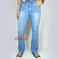 Blackfiel Celana Jeans Denim Pria Boot Cut / Cutbray
